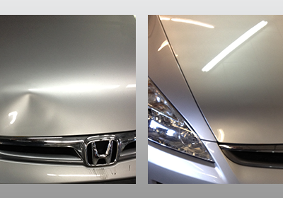 Front Silver Hood