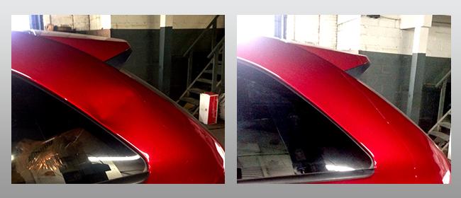 Red Rear Hatch
