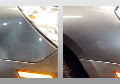 Silver Front Bumper