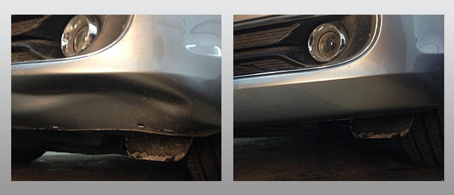Gray Front Bumper